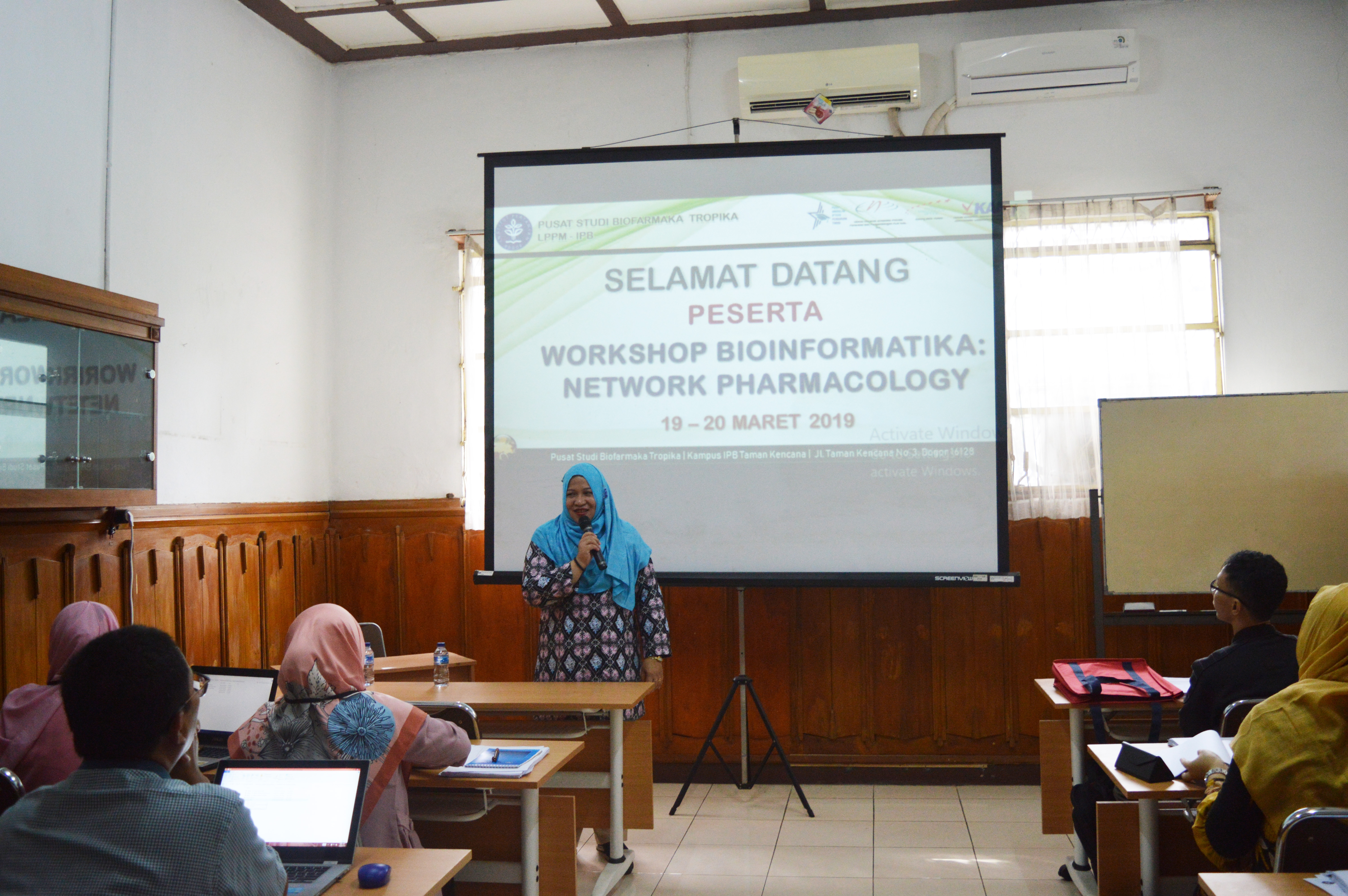 workshop bioinformatika ipb